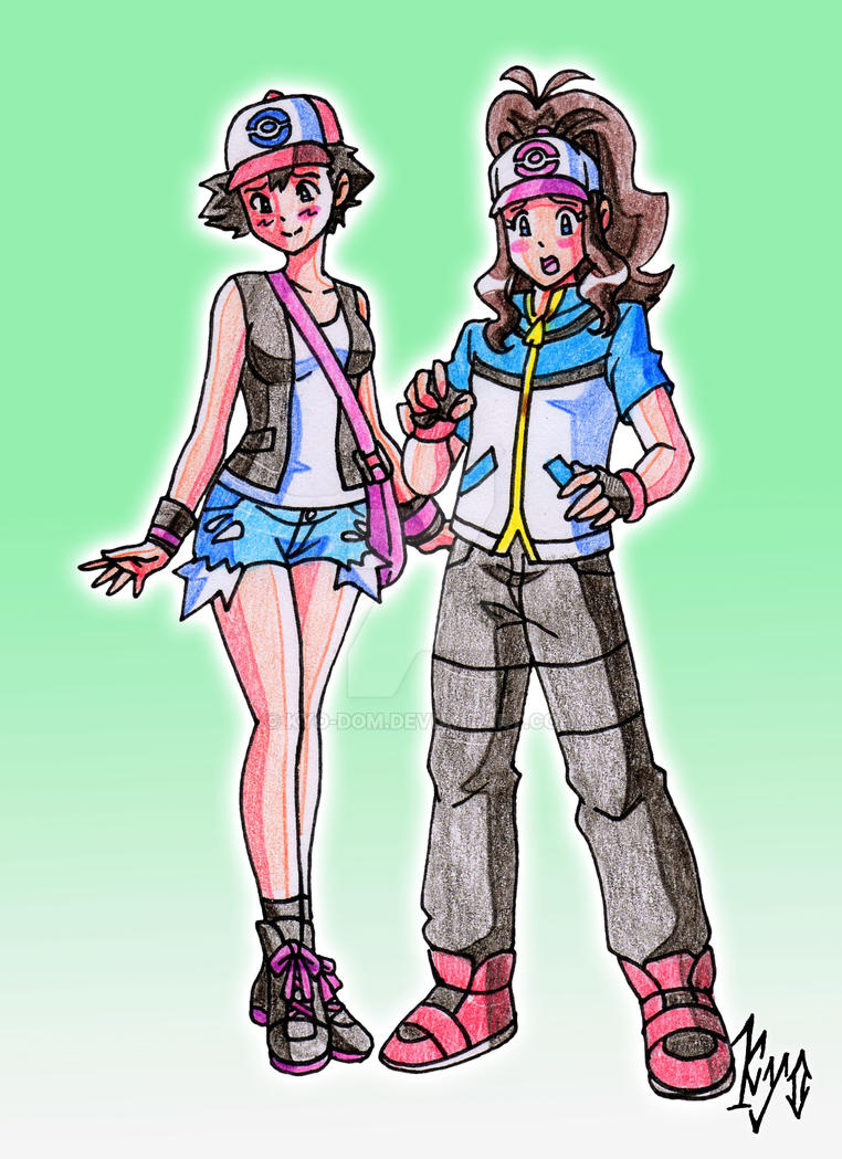 headswap - ASH + HILDA by kyo-domesticfucker