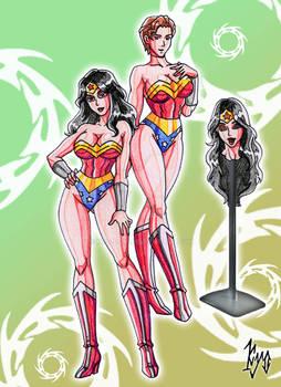 Body Suit Commission- Wonder Woman