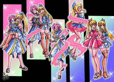 TF - Natsu into a clone of Lucy