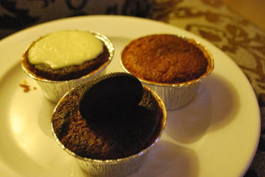 3 cupcakes by adriandika