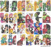 Marvel Universe 2011 02 by MaryBellamy