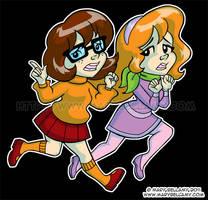 Scooby Doo Girls by MaryBellamy