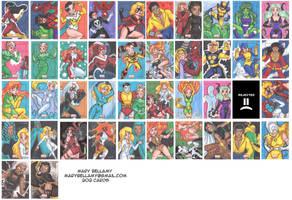 Marvel's Bronze Set 05 by MaryBellamy