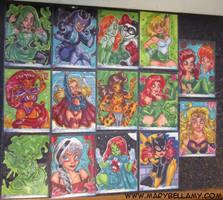 DC Women of Legend Returns by MaryBellamy
