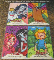 Adventure Time AP return cards 1 by MaryBellamy