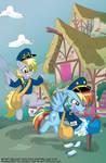 Rainbow Dash Delivers Commission