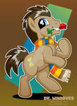 Dr. Whooves with Scarf