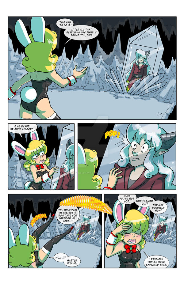 Ah Heck!! The Angel Chronicles Web Page 89 by MaryBellamy