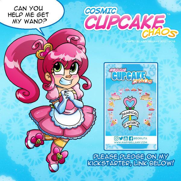 Cosmic Cupcake Chaos Kickstarter! by MaryBellamy