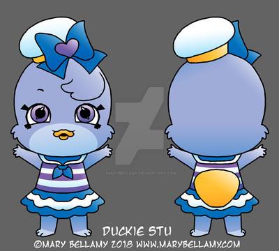 Duckie Stu Shoppet by MaryBellamy
