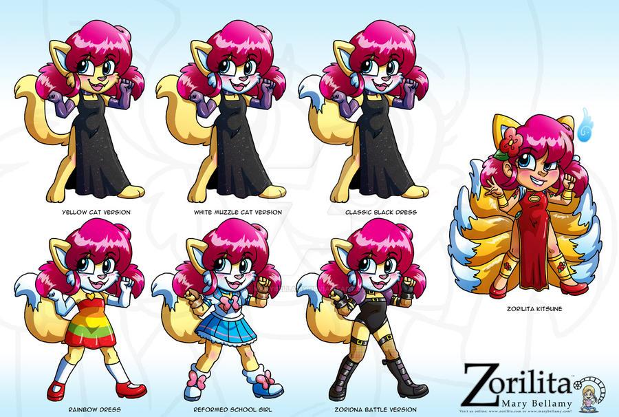 ZoriDNA sheet by MaryBellamy