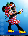 Tropical Minnie Mouse