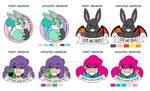 Updated Designs