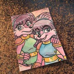 Leeta and Lyco by MaryBellamy