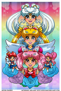 Sailor Moon Phases