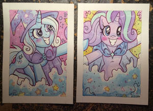 Trixie and Glimmer
