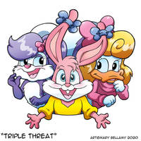 Tiny Toons Triple Threat