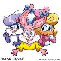 Tiny Toons Triple Threat
