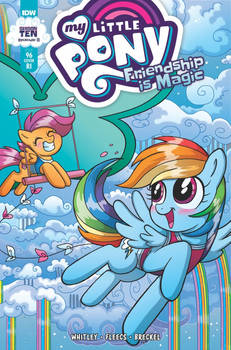 My Little Pony Issue 96 RI Cover