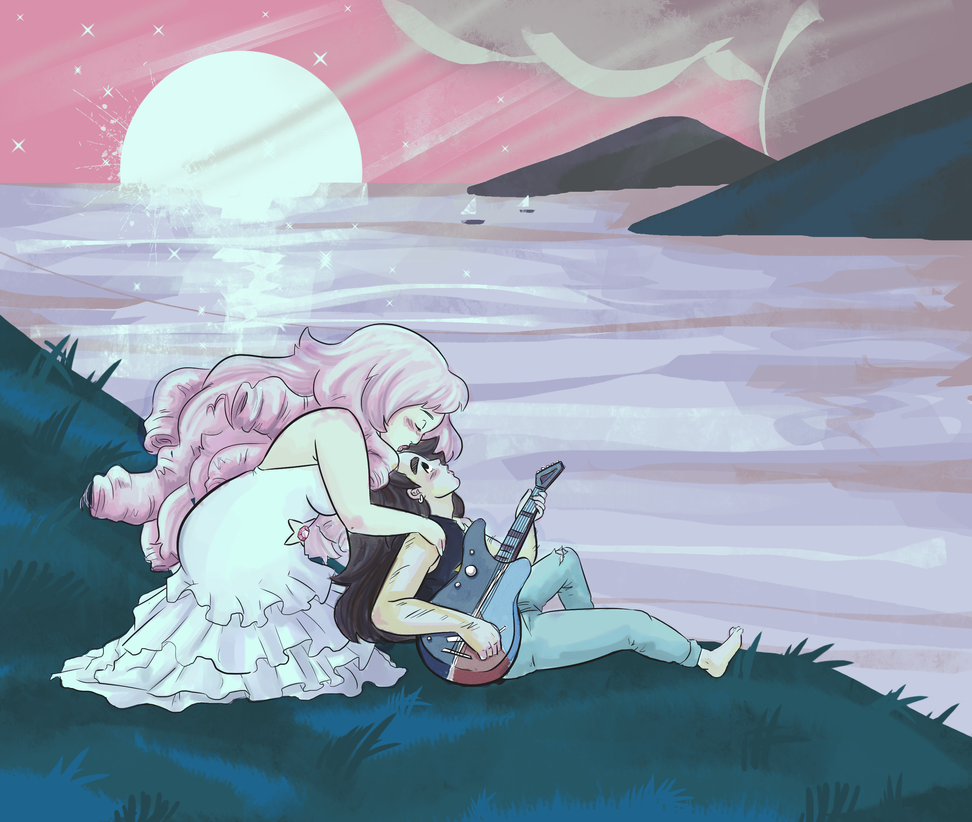 From Steven Universe 8) I love Rose TT_TT