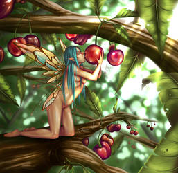 Cherry Fairy by Toxic--Vision
