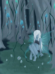 Forest Faerie by HelixAbyss