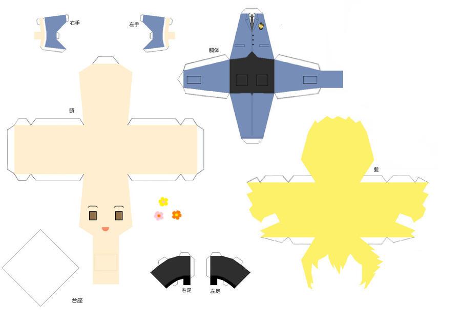 Hunny Papercraft by Shifteryoukai