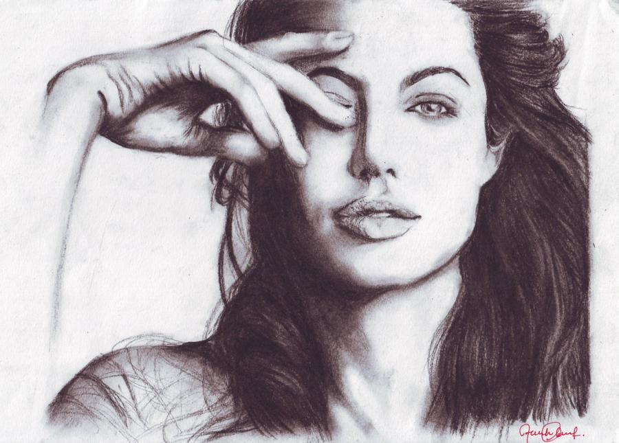 Angelina Jolie by meow-atfarah17