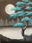 Cerulean Moon