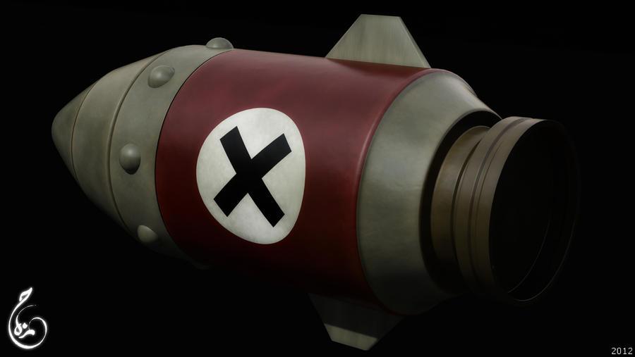 Metal Slug rocket by HamzaLippisch