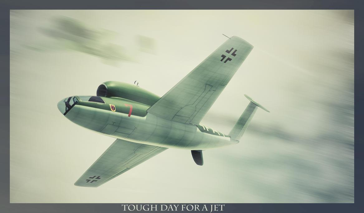 Travaux 3D de Hamza Fouatih Tough_day_for_a_jet_by_hamzalippisch-d5hdv46