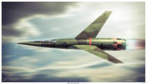 Stockel 1955 Jet bomber Bei Vollgas by HamzaLippisch