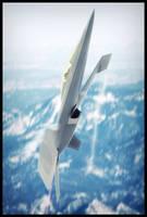 Lockheed-Martin F24 Manta Vertical by HamzaLippisch