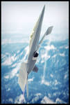 Lockheed-Martin F24 Manta Vertical