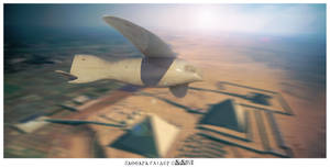 Saqqara bird an egyptian antic glider