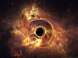 Black hole No1 by HamzaLippisch