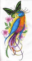 Bird by TattooSavage