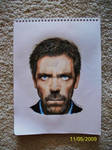 House MD Colored Pencil