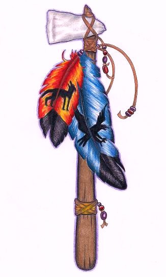 Tomahawk 1 by tattoosavage on deviantart for Art 1576 cc