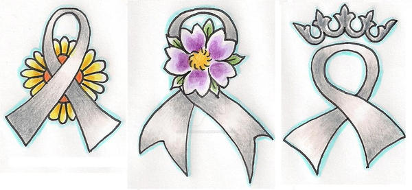Brain Cancer Ribbons By Tattoosavage On Deviantart