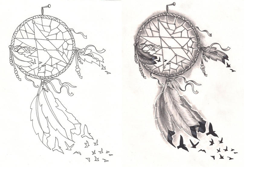 Wolf Dream Catchers Drawings Freebies Tattoo Desings Dream