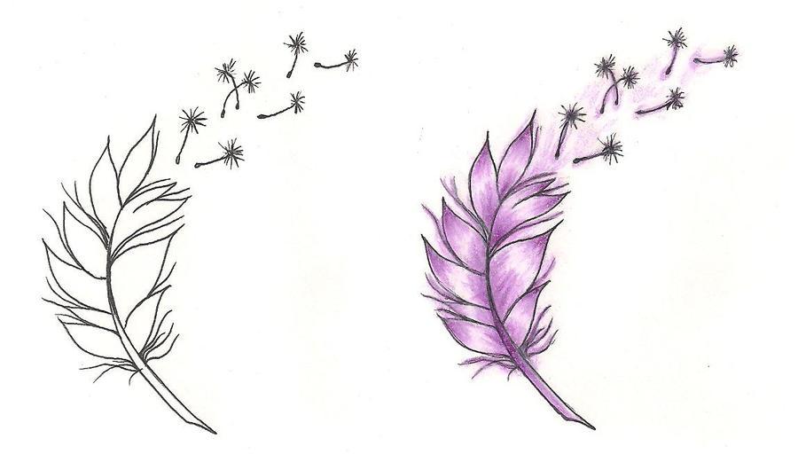 freebies tattoo designs feather by tattoosavage on deviantart. Black Bedroom Furniture Sets. Home Design Ideas