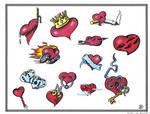 Hearts Flash