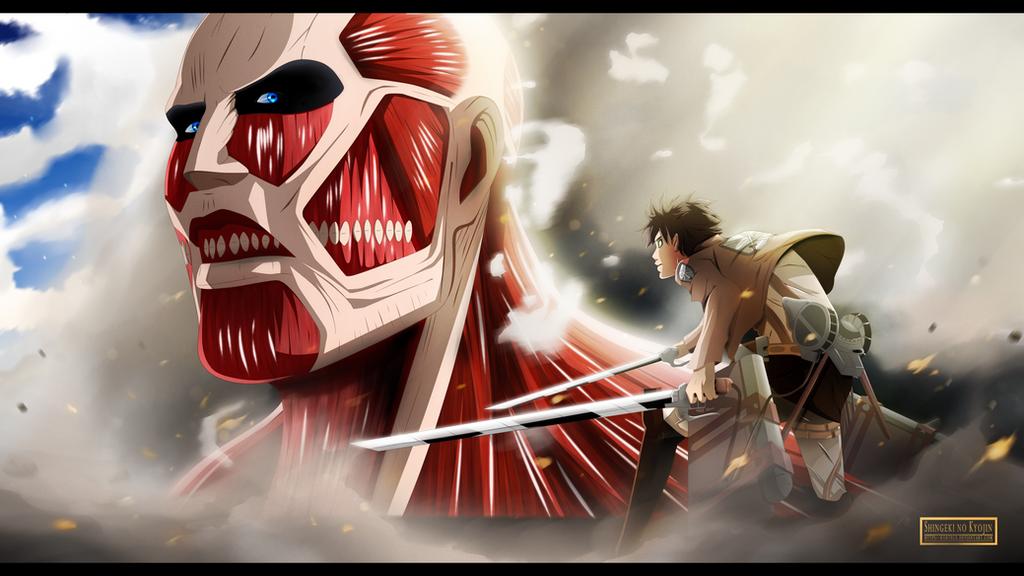 Shingeki No Kyojin - Facing the enemy by Kortrex