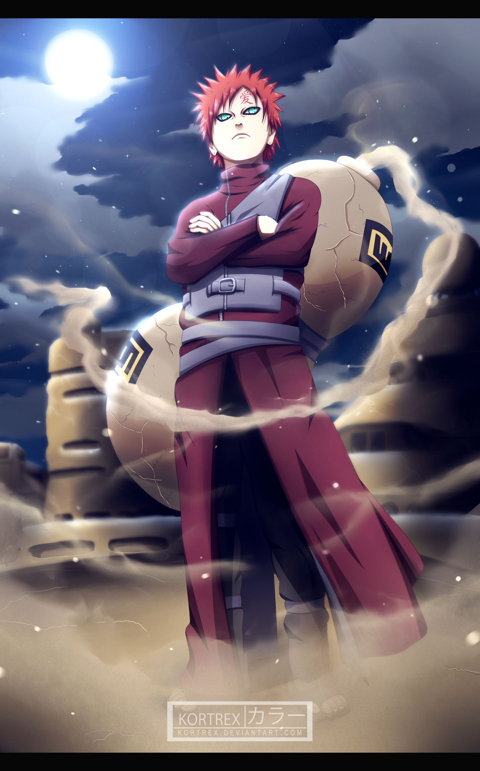 naruto chapter 248 sabaku no gaara by kortrex on deviantart