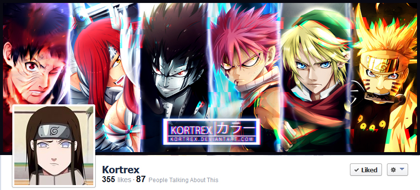 Like me on Facebook! by Kortrex