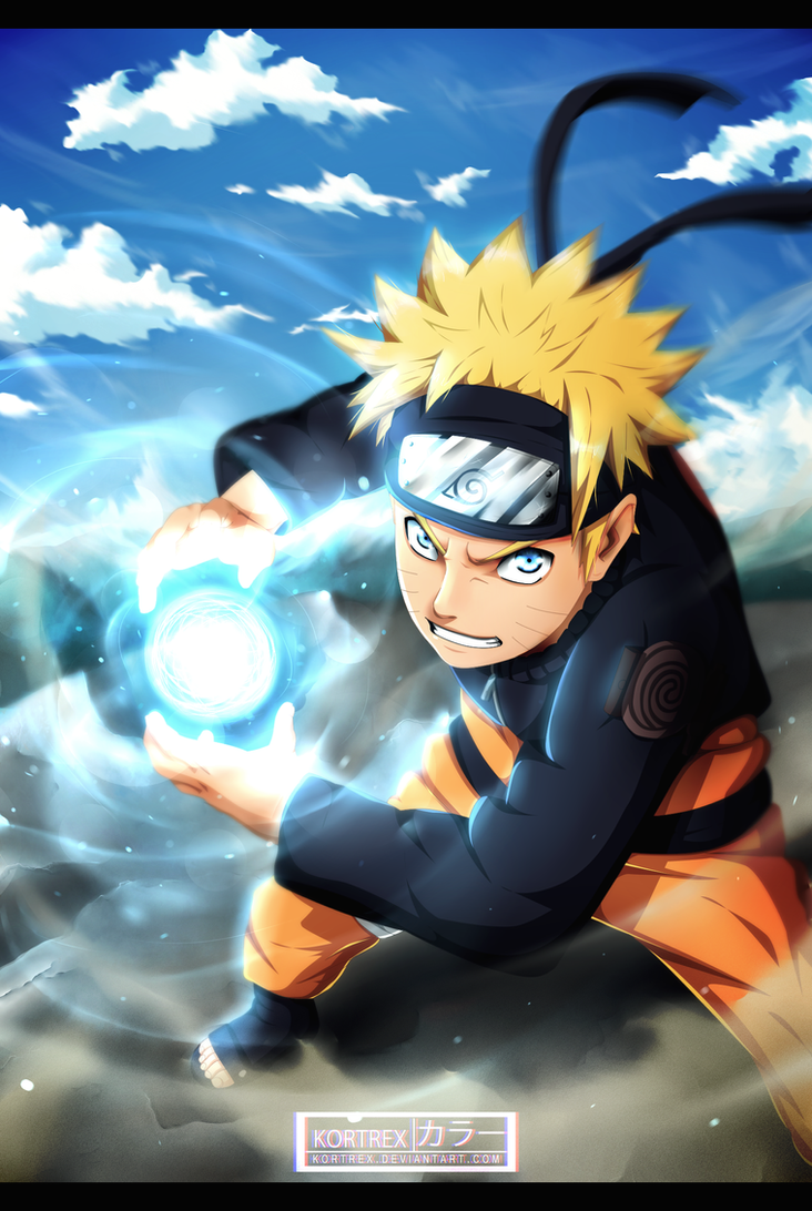 Naruto Rasengan By Kortrex On Deviantart