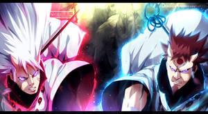 Naruto chapter 690 - Hamura and Hagoromo COLLAB