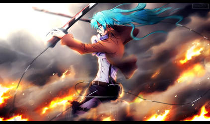 Attack on EDM - Hatsune Miku