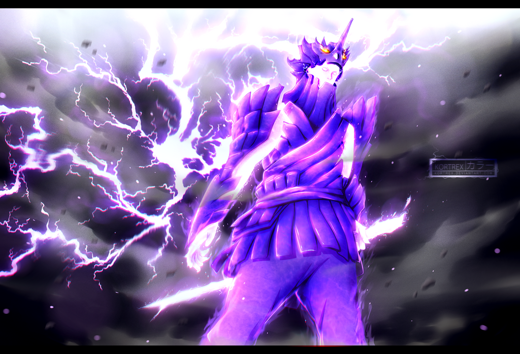 Naruto chapter 696 - Susanoo's Indra Mode by Kortrex on ...